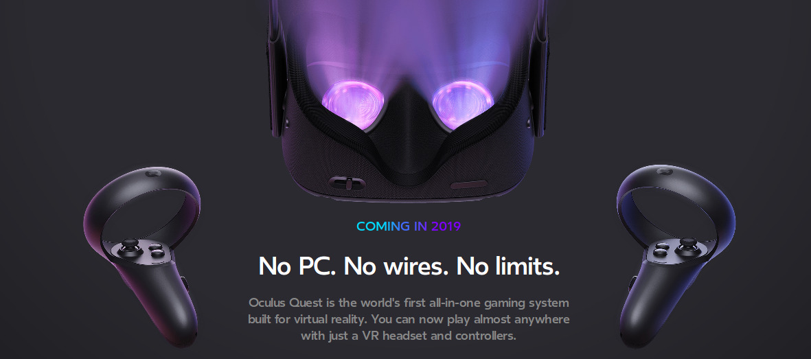 c9ef6edfe558 Facebook announced a virtual reality Game Oculus Quest 2019