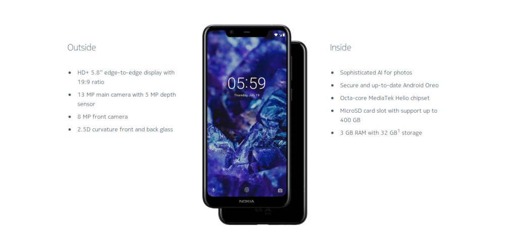 Nokia India Launched 2.5D Shaped Glass 5.1 Plus, Will Go On Sale 1st October 2018 - Techmobi