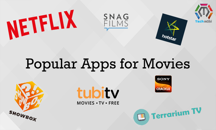Most Popular Apps for Movies 2018