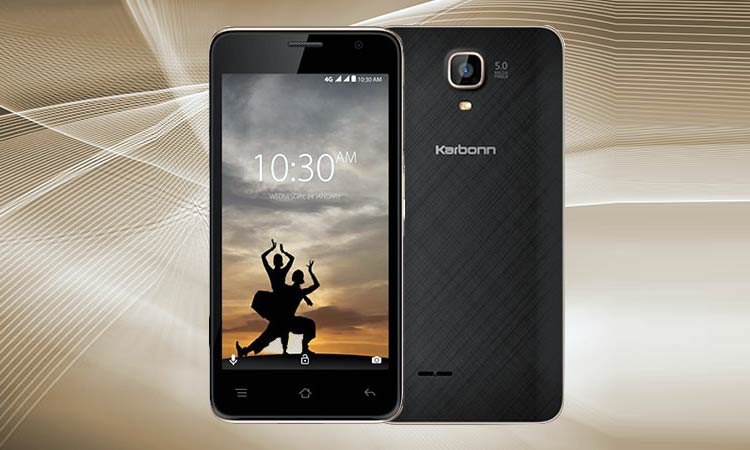 Karbonn A9 Indian 4G : Android v7.0 (Nougat)