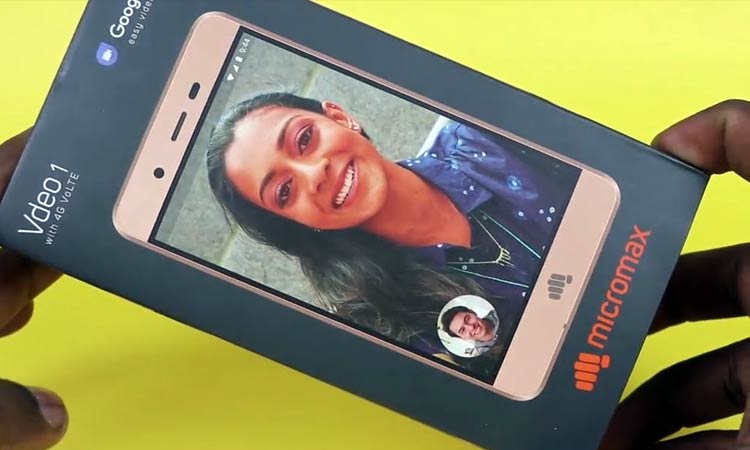 MicroMax Vdeo 1 : Android v6.0 (Marshmallow)