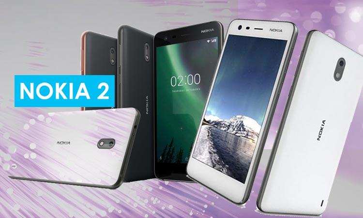 Nokia 2 : Android v7.1.1 (Nougat)