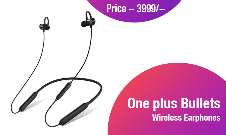 One plus Bullets Wireless Earphones