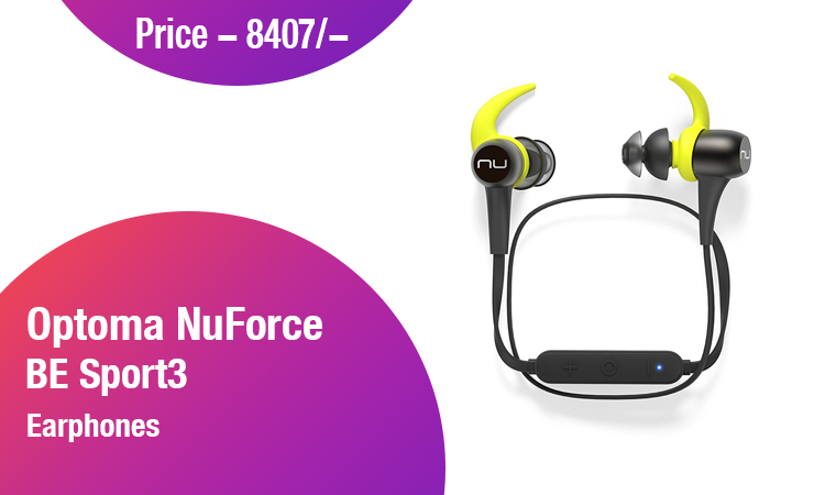 Optoma NuForce BE Sport3 Earphones
