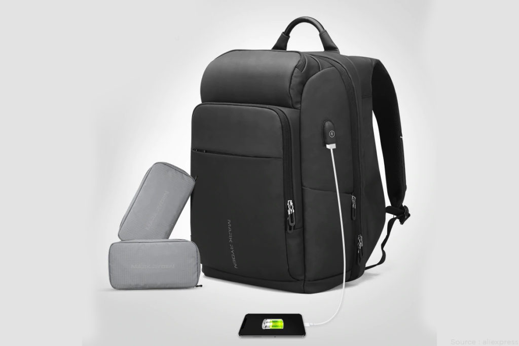 Charging backpack appliances