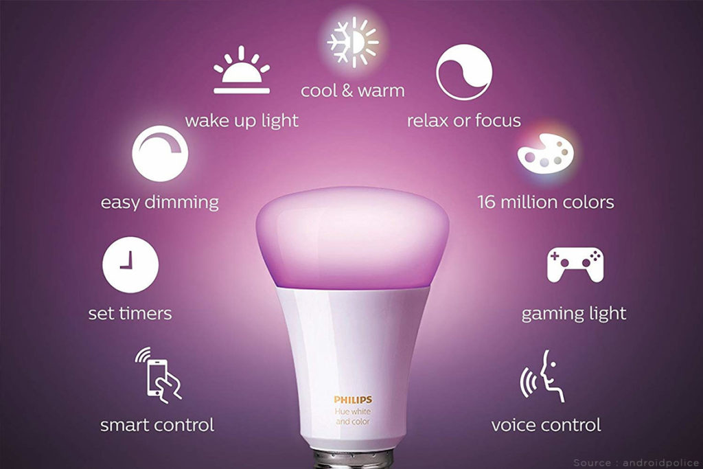 philips hue smart bulb smart home devices