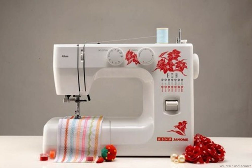 Usha Automatic Zig-Zag Sewing Machine