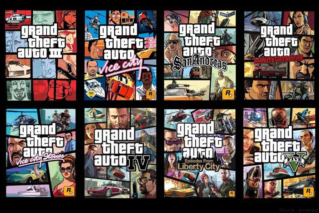Grand Theft Auto series- TechMobi