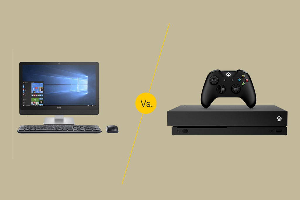 PC games v/s console gaming