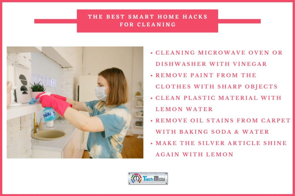 smart home cleaning hacks