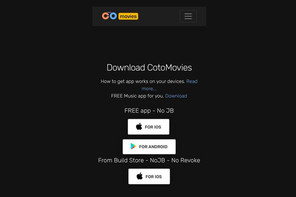 Download CotoMovies for ios