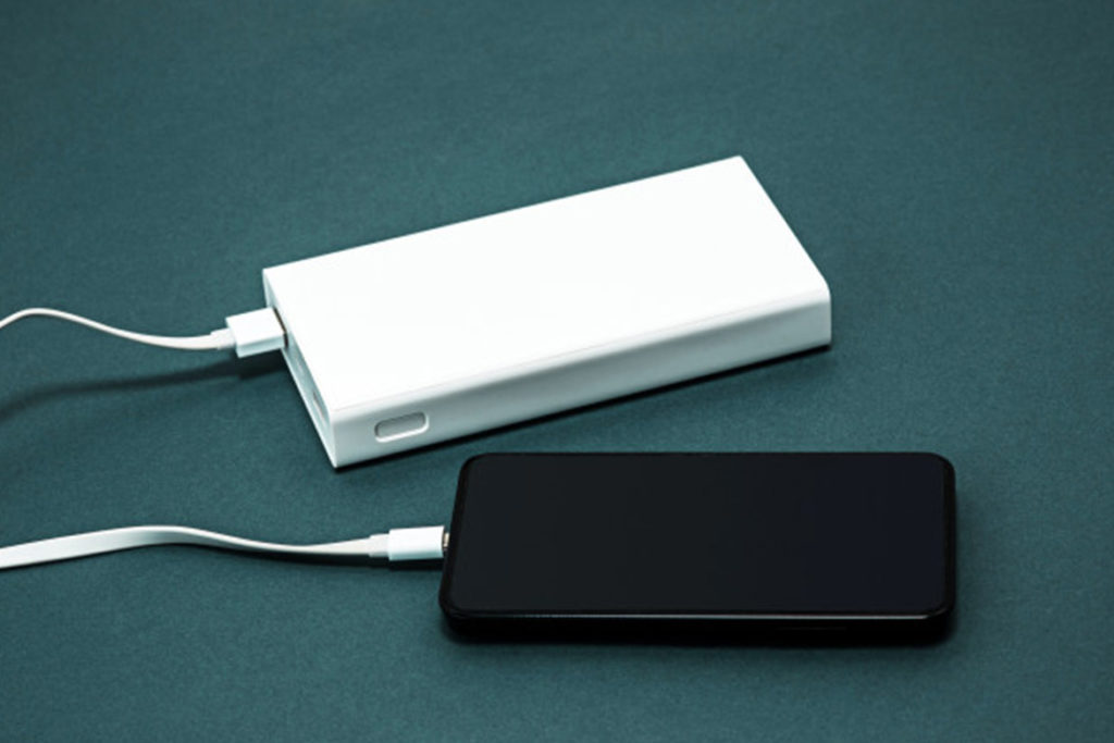Use fast charging power bank- TechMobi
