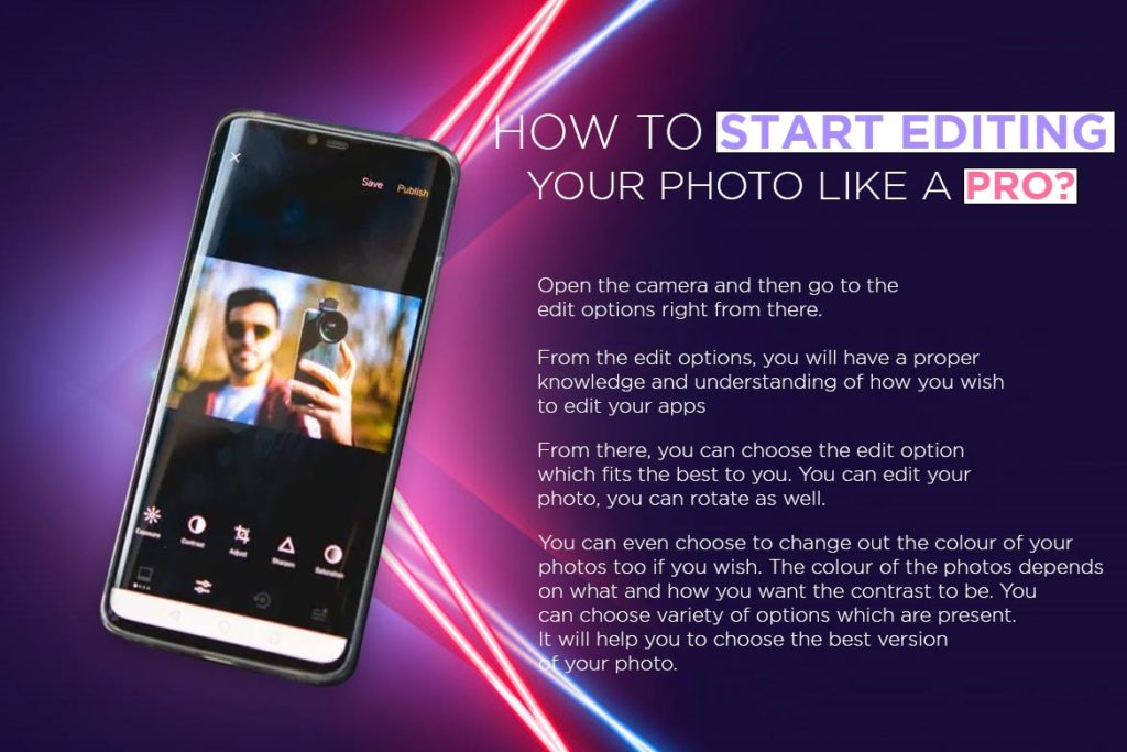 Edit Photos in your Android Phone