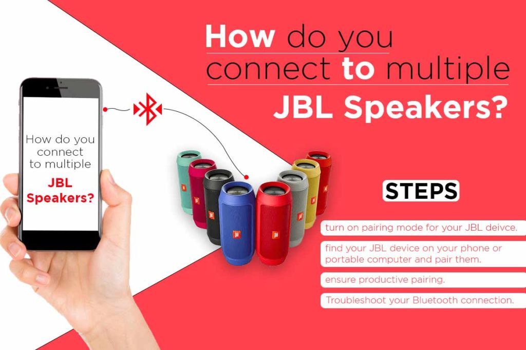 How Do You Connect To Multiple JBL Speakers?- TechMobi