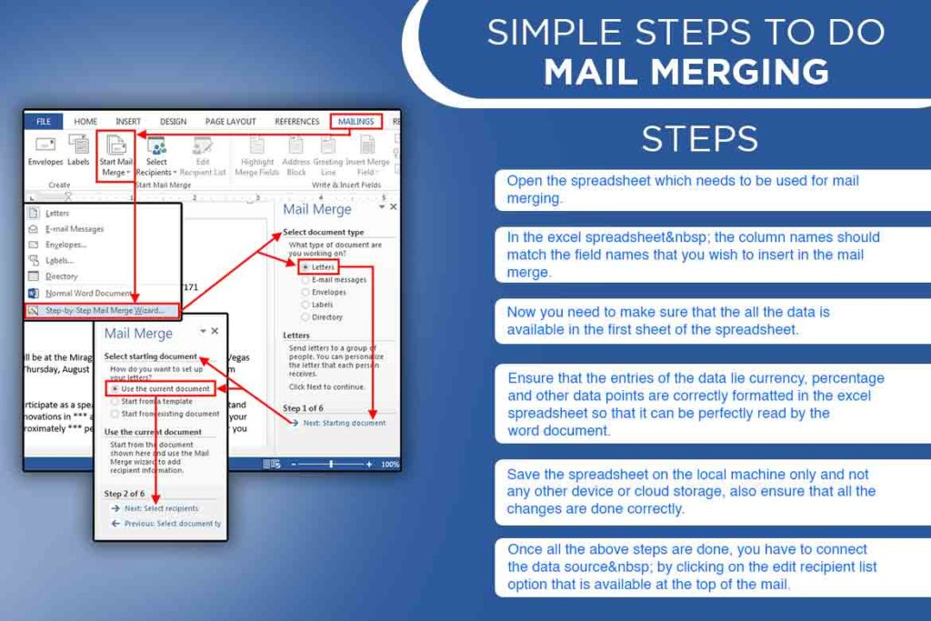 mail merging- TechMobi