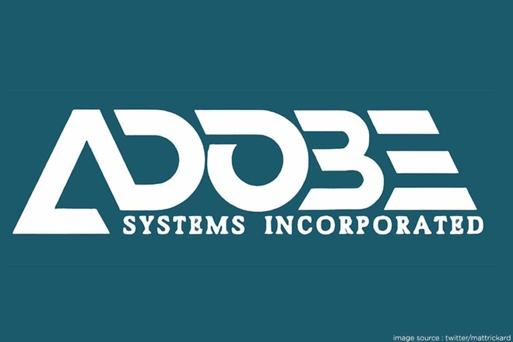 Adobe Firstever logo